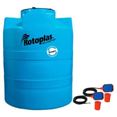 Combo Cisterna de Agua 1200 L + 2 Electroniveles