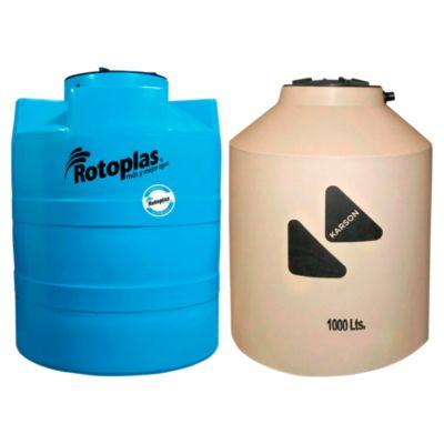 Combo Tanque Arena 1100L Karson + Cisterna de Agua 1200L Rotoplas