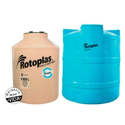 Combo Cisterna de Agua 2800 L + Tanque de Agua 1100 L