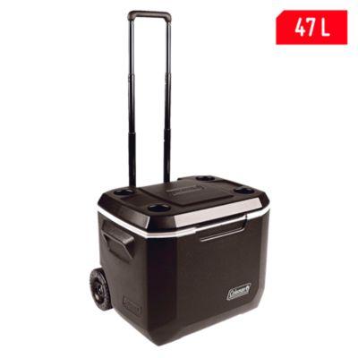 Cooler 47L Negro con ruedas