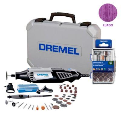 Dremel 4000 + 36 Accesorios + Kit 31 accesorios lijado/amolado