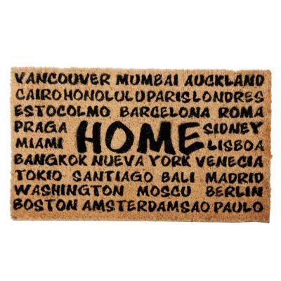 Felpudo Home ciudades 45x75cm