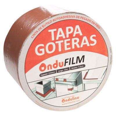 Cinta Ondufilm Rojo 7.5cmx10m
