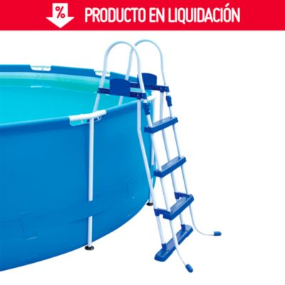 Escalera para piscina 107 cm