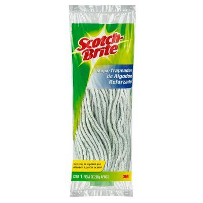 Repuesto de mopa redonda de algodón