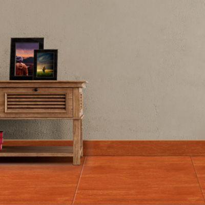Zócalo Cedro Caramelo Liso 7.2x45cm