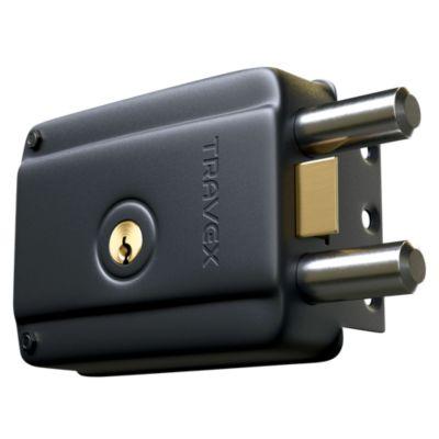 Cerradura de Sobreponer 960R Negro