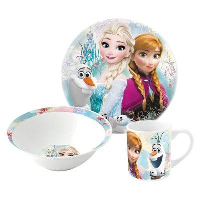 Set de desayuno de 3 piezas Frozen