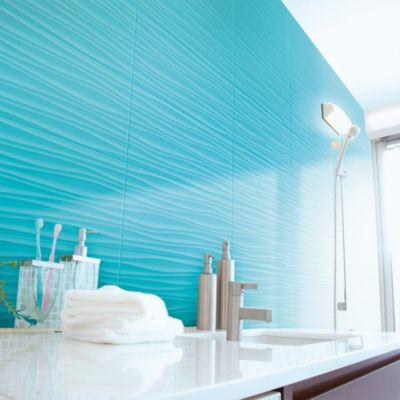 Cerámica Qatar Lavanda Con Relieve 34x60cm para pared