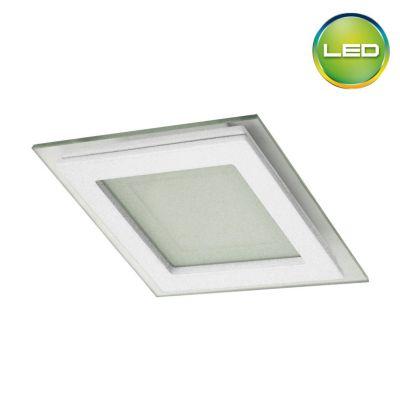 Spot empotrable cuadrado Luz blanca