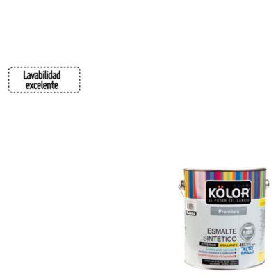 Esmalte sintético Premium blanco 1 gl