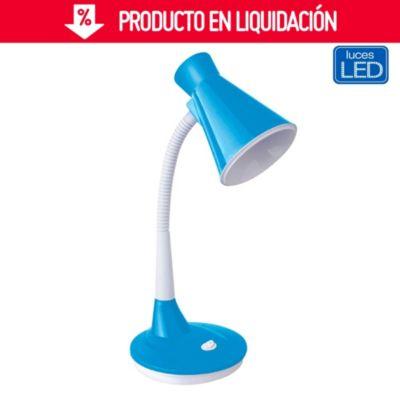 Lámpara de escritorio Dani celeste