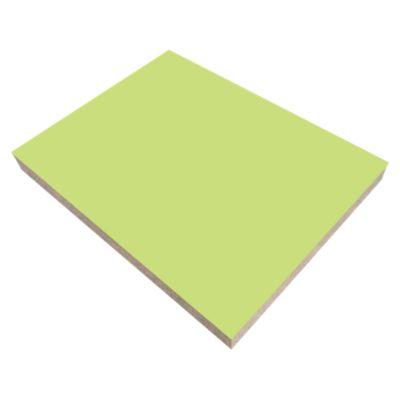 Tablero enchapado con Melamina Verde 18mm 2.15x2.44m
