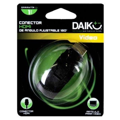 Conector HDMI Ángulo 180°