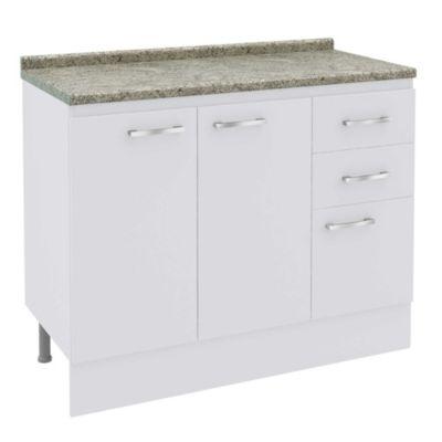 Mueble base Bianco 105 cm