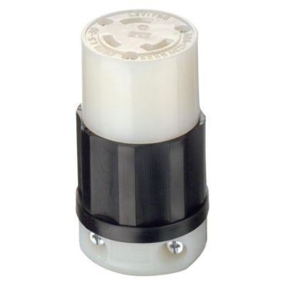 Conector 2x30A 125V L5 con Seguro