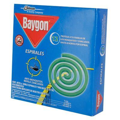 Baygon 6 doble espirales