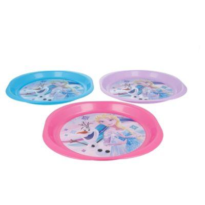 Set de 3 platos Frozen