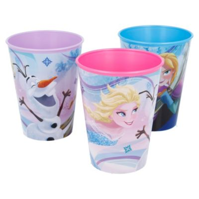 Set de 3 vasos Frozen