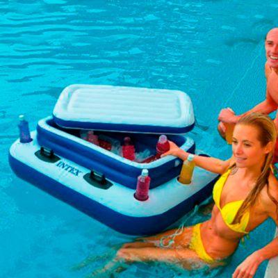 Flotador cooler 122x97 cm