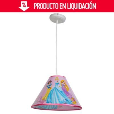Lámpara colgante Princesas 1 luz