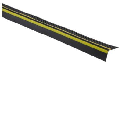 Perfil esquinero negro 120cm