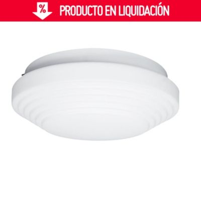 Plafón Opal Capas 1 luz