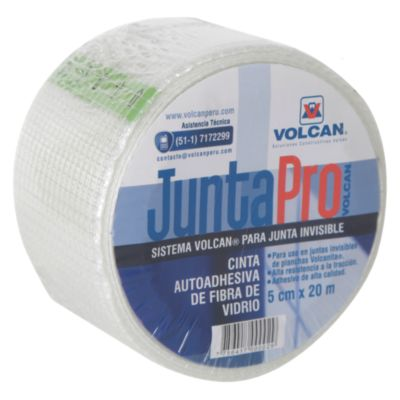 Cinta de Fibra de Vidrio Juntapro 5cmx20m
