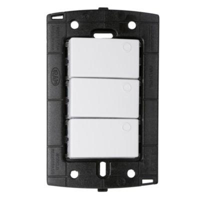 Interruptor Triple S-PQ Blanco