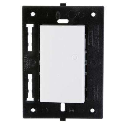 Interruptor Simple Minimal Blanco