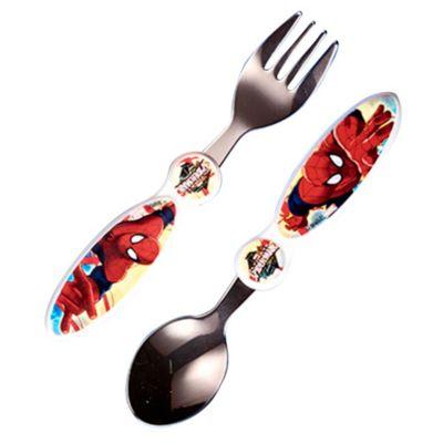 Set de cubiertos Spiderman