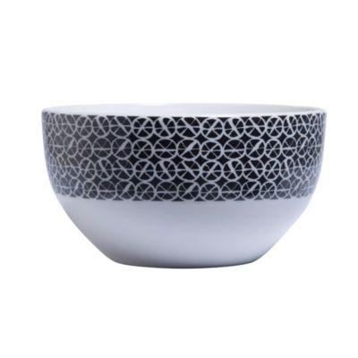Bowl 14 cm blanco y negro 2