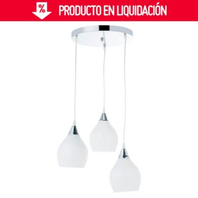 Lámpara colgante Oviedo 3 luces