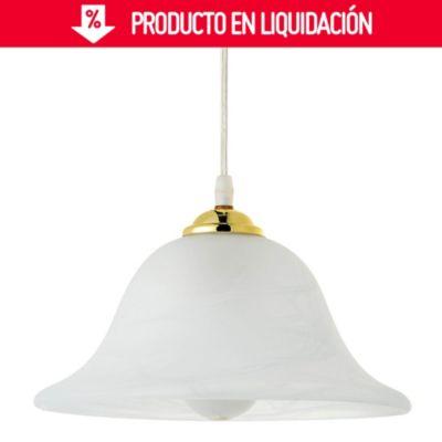 Lámpara Colgante de Cocina Hasselt 1 Luz E27