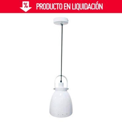 Lámpara Colgante de Cocina Arlon Blanca 1 Luz E27