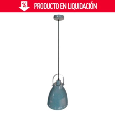 Lámpara Colgante de Cocina Arlon Gris 1 Luz E27