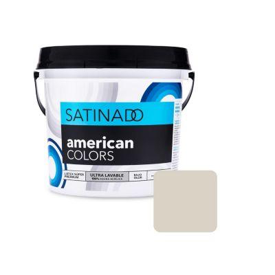 Látex Blanco Humo Satinado 4 L