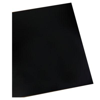 Tablero de Melamina Alto Brillo Negro18 mm 1.22 x 2.44 m