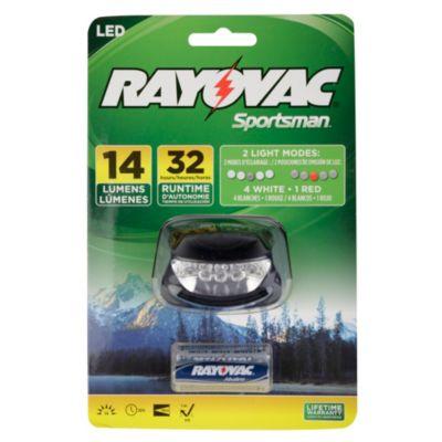 Linterna 5 LEDs Vincha y 3 Pilas AAA