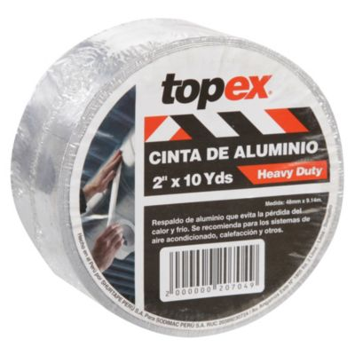 Cinta aluminio 2 x 9.14 m
