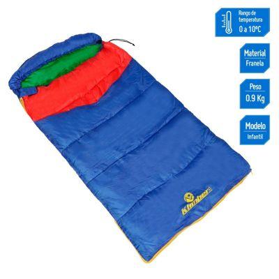 Bolsa de Dormir Infantil 140x75cm Azul