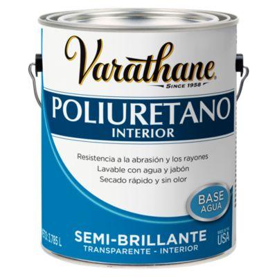 Poliuretano para madera de interior Varathane Semi Brillante 3,785L