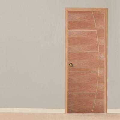 Puerta Flamenco Caoba Claro 85 cm