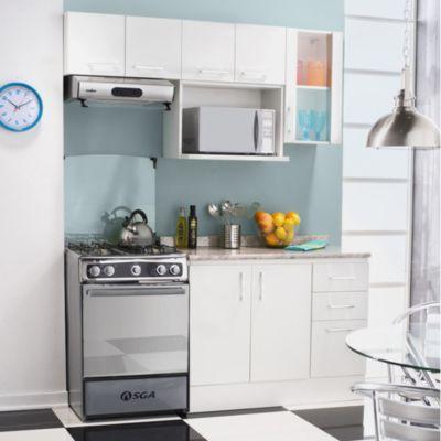 Proyecto Cocina Modular Bianco chico