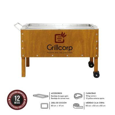 Caja China Grande Premium Caoba