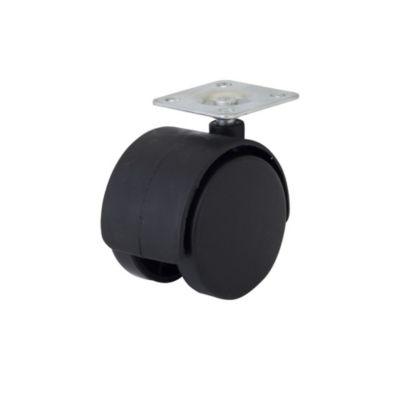 Garrucha Nylon Plataforma 50 mm