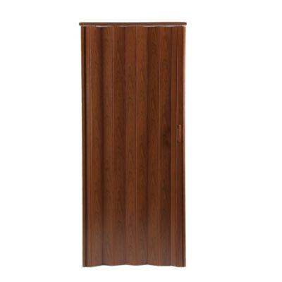 Puerta Plegable Saturno PVC 90 x 210 cm Caoba
