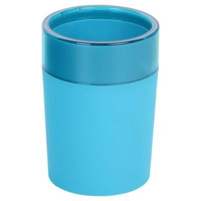 Vaso plástico Rubber turquesa