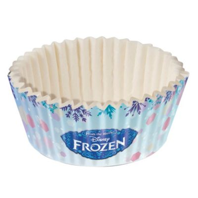 Set 60 cap para mini cupcake Frozen