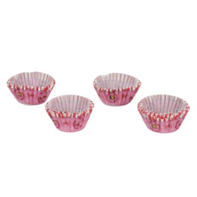 Set 60 cap para mini cupcakes Minnie